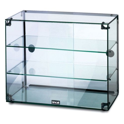 Lincat Seal Glass Display Cabinet rear sliding doors  GC36D
